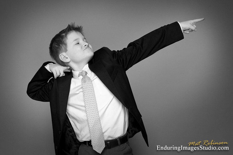 Casual communion portraits - photography studio, Morris County
