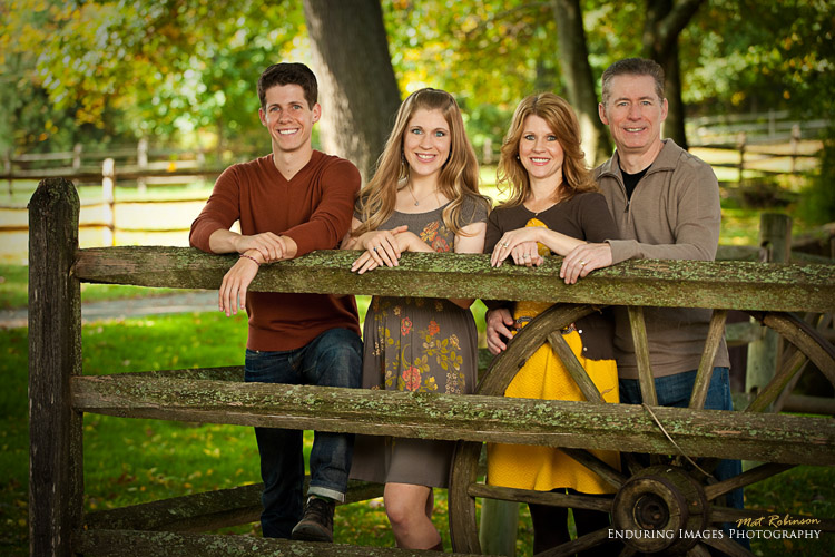 Fall family portrait ideas, Morris County, NJ